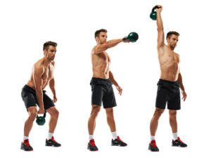 8 упражнения с пудовки за маса в горната част на тялото..