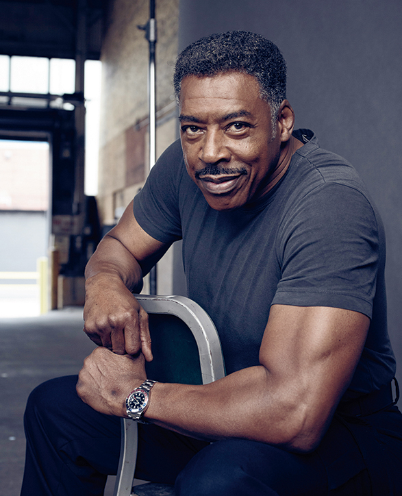 Actor Ernie Hudson at Cinespace Chicago. Photographer: Michael Becker