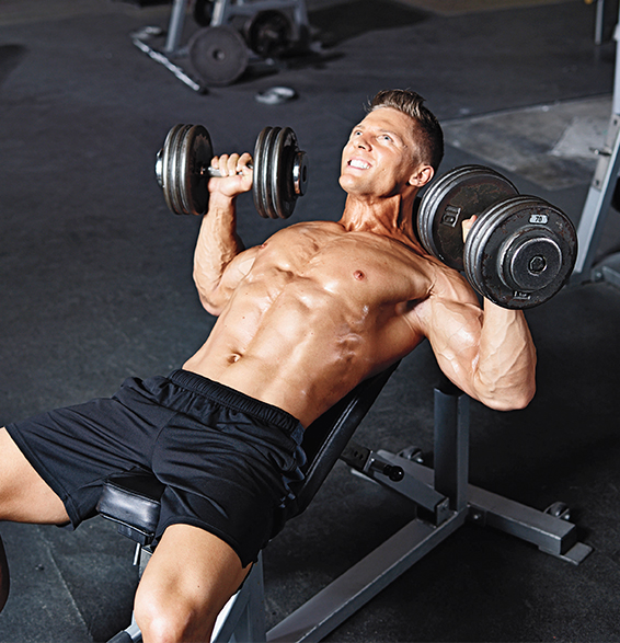 Steve Cook, Muscle and Fitness magazine