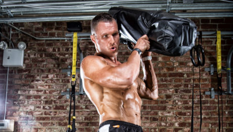 sandbag-shouldering